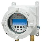 Dwyer AT2DH3 ATEX-Approved DH3 Digital Differential Pressure Controller LCD, relay control and transmitters all in one. MAIN