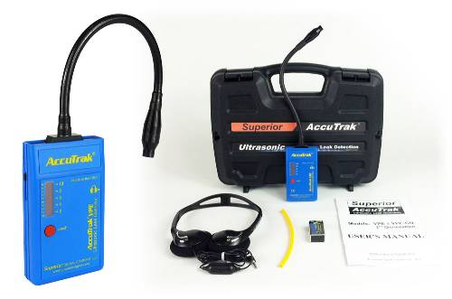 Superior AccuTrak® VPE-GN Ultrasonic Leak Detector--Standard Kit with Goose-Neck Probe_MAIN