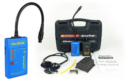 Superior AccuTrak® VPE-GN Ultrasonic Leak Detector--Plus Kit with GooseNeck Probe