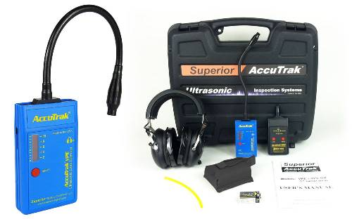 Superior AccuTrak® VPE-GN Ultrasonic Leak Detector--Pro-Plus Kit with GooseNeck Probe