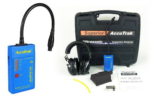 Superior AccuTrak® VPE-GN Ultrasonic Leak Detector--Professional Kit with GooseNeck Probe