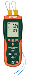 HD200 Differential Thermometer Data Logger + IR