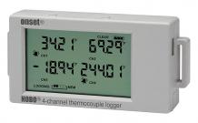 UX120-014M HOBO Type J, K, T, E, R, S, B, N Thermocouple Data Logger