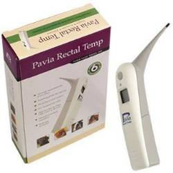 Pavia Rectal Temp Veterianry Thermometer. Perfect rectal thermometer for Llamas.