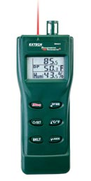 RH401 Psychrometer plus Infrared Thermometer