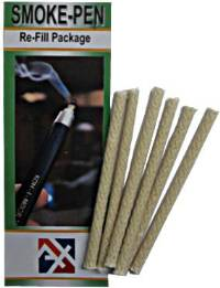 S221 Regin Refill wicks, 6/pkg.  Replacement wicks for the S220 Regin Smoke Pen.  FREE SHIPPING from MeterMall USA