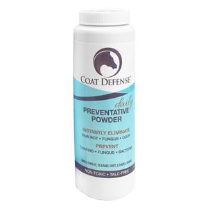 COAT DEFENSE Daily Preventative Powder for Horses. 24 Oz