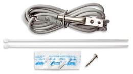TMC6-HE  Air/Water/Soil Temp Sensor (6' cable) for HOBO data loggers