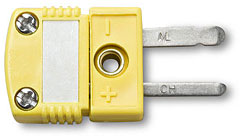 SMC-K Type K Subminiature Thermocouple Connector