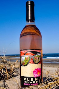 Mill River Winery's Plum Island Rose LARGE