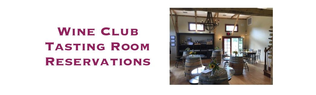 Wine Club Tasting Room Reservations