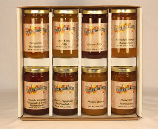4 10 Ounce Jars Mixon Jellies & Marmalades LARGE