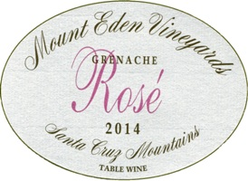 2014 Rosé of Grenache, Santa Cruz Mountains