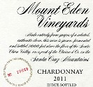 2011 Mount Eden Estate Bottled Chardonnay, Santa Cruz Mountains THUMBNAIL