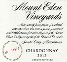 2012 Mount Eden Estate Bottled Chardonnay, Santa Cruz Mountains
