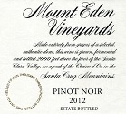 2012 Mount Eden Estate Bottled Pinot Noir, Santa Cruz Mountains THUMBNAIL