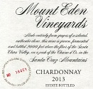 2013 Mount Eden Estate Bottled Chardonnay, Santa Cruz Mountains