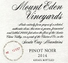 2014 Mount Eden Estate Bottled Pinot Noir, Santa Cruz Mountains THUMBNAIL