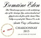 2015 Domaine Eden Chardonnay, Santa Cruz Mountains THUMBNAIL