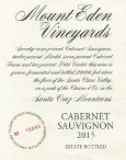 2015 Mount Eden Estate Bottled Cabernet Sauvignon, Santa Cruz Mountains THUMBNAIL