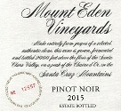 2015 Mount Eden Estate Bottled Pinot Noir, Santa Cruz Mountains THUMBNAIL