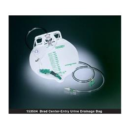 Bard Urinary Night Drainage Bag, Center-Entry THUMBNAIL