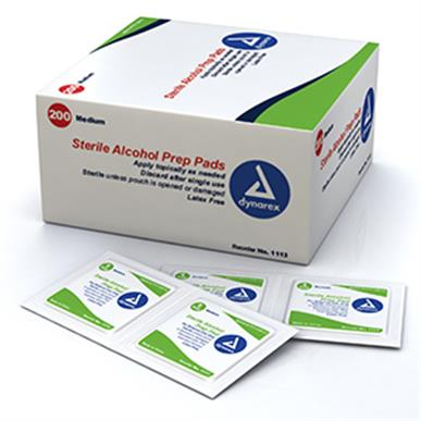 Alcohol Prep Pads MAIN