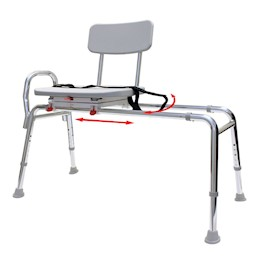 photo of Eagle Health Swivel Sliding Transfer Bench THUMBNAIL