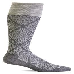 Compression Sock, The Raj, Women's Knee High, 20-30 mmHg THUMBNAIL