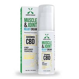 CBD Muscle & Joint Relief Cream 300mg THUMBNAIL