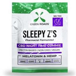 CBD Sleepy Z's Night Time Gummie THUMBNAIL