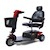 photo of GB119 Golden Technologies Buzzaround LX 3 Wheel Scooter in red SWATCH