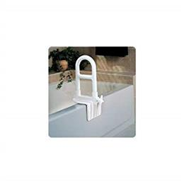 Tub Grab Bar, Dual Level, White THUMBNAIL