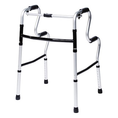 Lumex® UpRise Onyx Folding Walker MAIN
