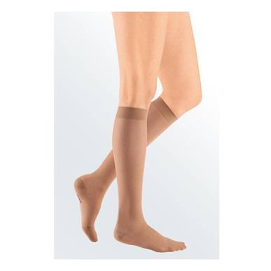Compression Sock, Sheer & Soft, Women's Knee High, Closed Toe, 8-15 mmHg MAIN