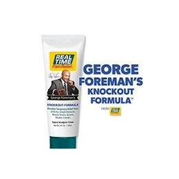 photo of George Foreman's Knockout Formula Real Time Pain Relief 1 oz Gopack & 4 oz tube THUMBNAIL
