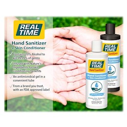 photo of Real Time Hand Sanitizer 3oz tube hand sanitizer 76014 THUMBNAIL