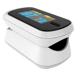 photo of ChoiceMMed Fingertip pulse oximeter, battery operated, 4-direction display THUMBNAIL