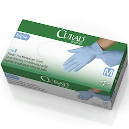 photo of Curad Nitrile Exam Gloves THUMBNAIL