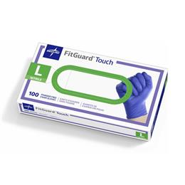 Medline Latex-Free FitGuard Touch Nitrile Exam Gloves, Powder-Free THUMBNAIL