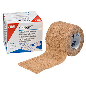 Coban self adherent wrap 1in X 5 yds 5-pack