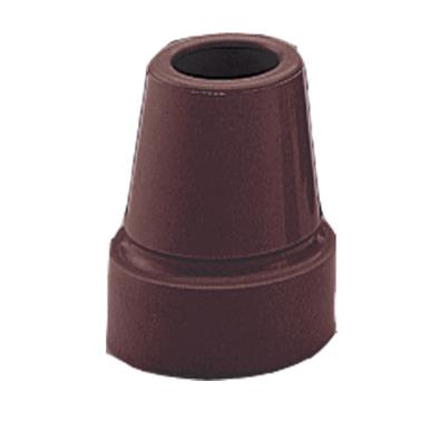 "Cane Tip, Nova 3/4"", Black or Brown MAIN"