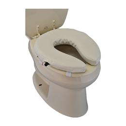 "Easy Air Toilet Seat Riser 2"", Adjustable THUMBNAIL"