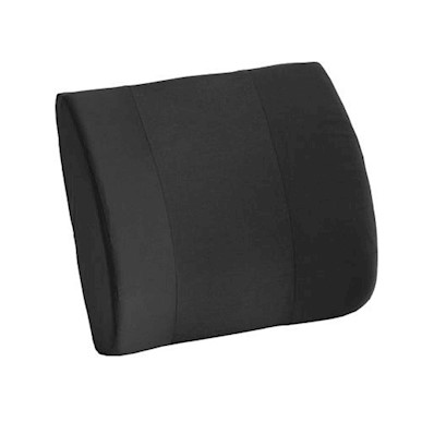 photo of Nova 2676BK-R Memory Foam Lumbar Cushion with Composite Board Insert  MAIN