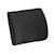 photo of Nova 2676BK-R Memory Foam Lumbar Cushion with Composite Board Insert  SWATCH