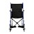 "photo of Nova 327B 17"" Transport Chair with Fixed Arms front view SWATCH"