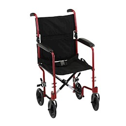 "photo of Nova 327 17"" Transport chair with Fixed arms THUMBNAIL"