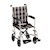 "photo of Nova 329CP 19"" Transport Chair with Fixed Arms SWATCH"