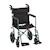 Wheelchair, 20 inch Transport/Companion Lightweight, Larger Rear Wheels SWATCH