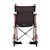 "photo of Nova 330R 20"" Transport Chair with 12"" Rear Wheels front view SWATCH"